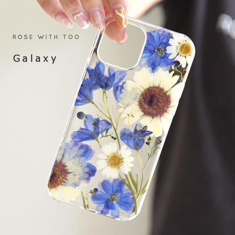 Galaxy /   押し花スマホケース  211006_4