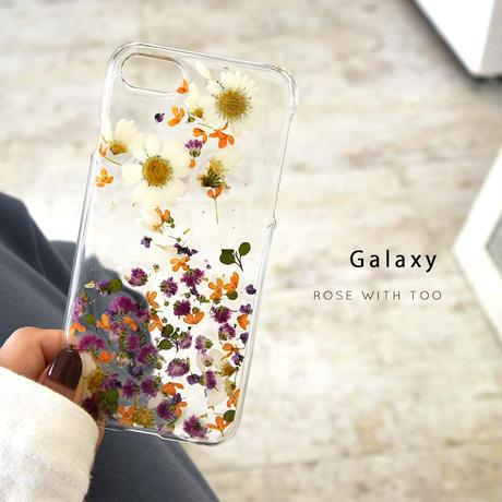 Galaxy /   押し花スマホケース  201021_6