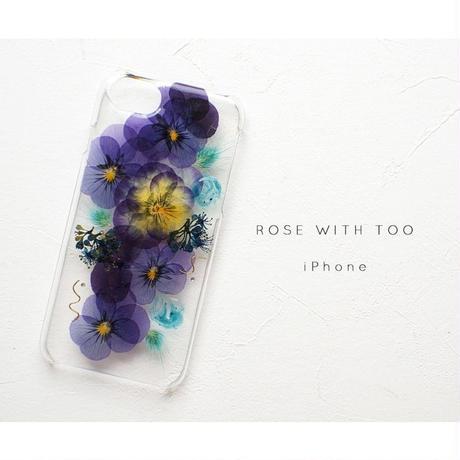 iPhone / 押し花ケース20190814_3