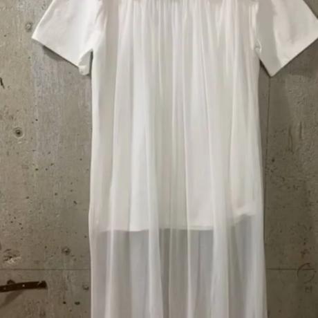 ロングチュールTシャツ