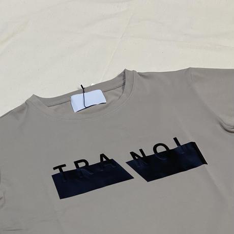 トラノイビッグロゴTシャツ グレージュ