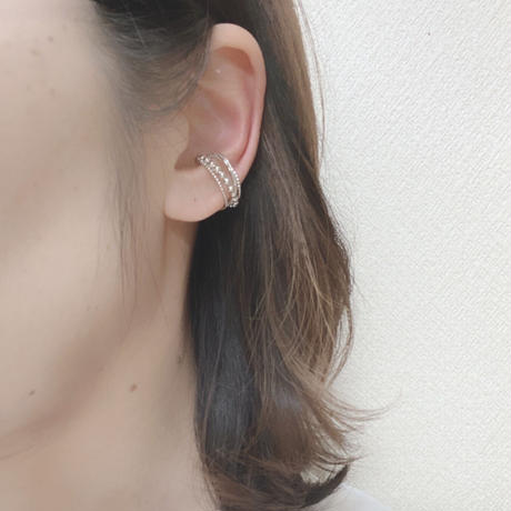 MIX ring ear cuff