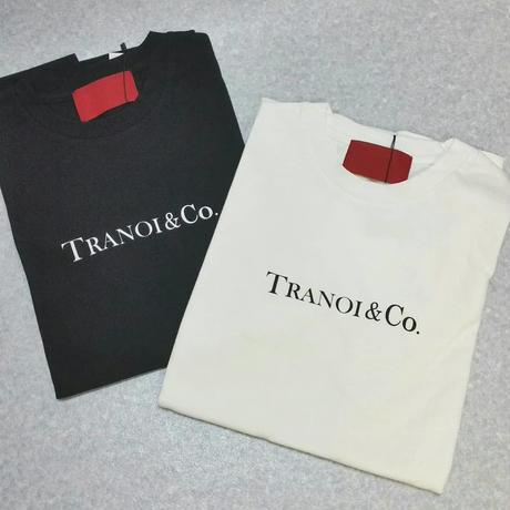 TRANOIシンプルロゴTシャツ Sale