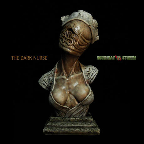 The Dark Nurse Bust 完成品