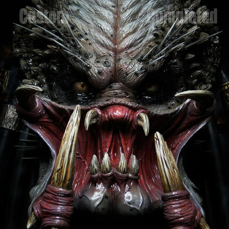 ELDER PREDATOR Head完成品【壁掛け】