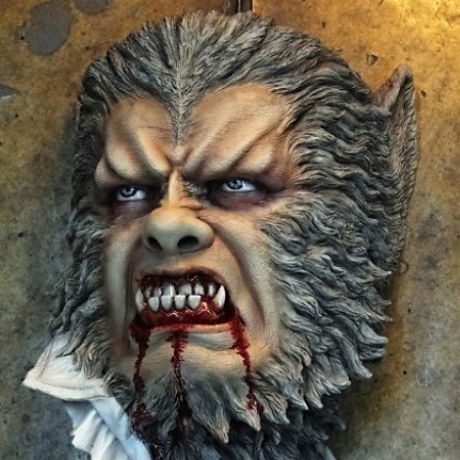 Werewolf 1/1scale Deluxe Wall-Hanger kit【取り寄せ】