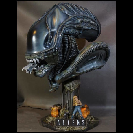 ALIENS Head  1/2scale  kit【取り寄せ】