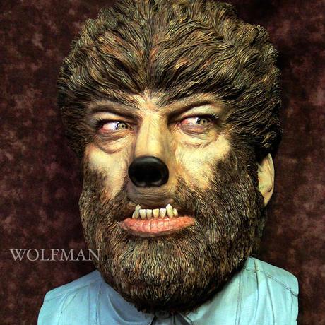 Wolf Man Wall-Hanger完成品