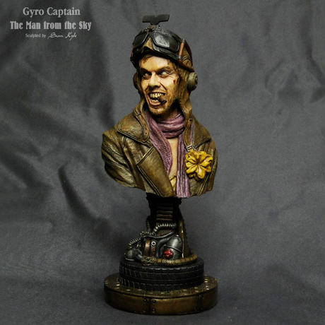 The Man from the Sky 1/4scale bust  完成品