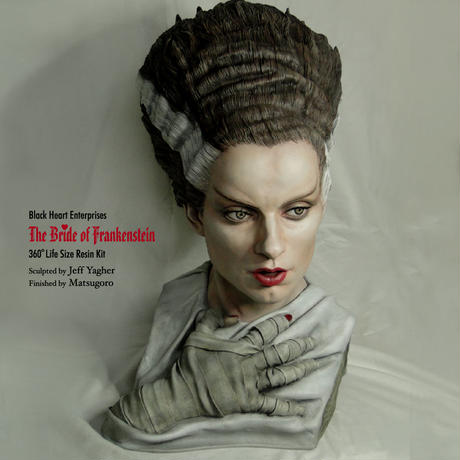The Bride of Frankenstein 完成品