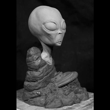 The Roswell Alien bustキット