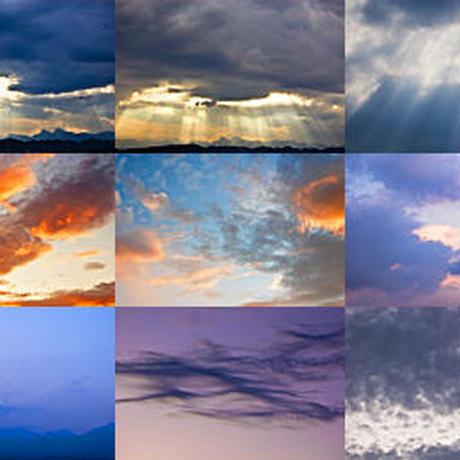 感動的な空の写真素材集