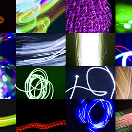 光のイメージの写真素材集
