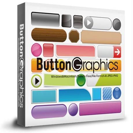 ボタングラフィックス素材集