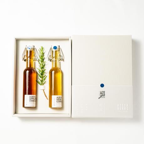 ハーブコーディアル&アップルミントビネガーギフトボックス