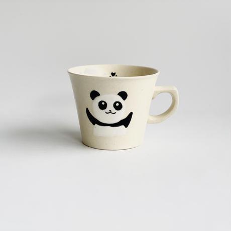 ミニ茶付 黒パンダ