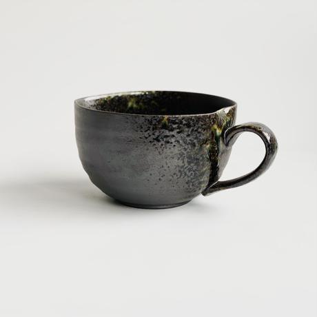 黒灰かぶり 納豆鉢