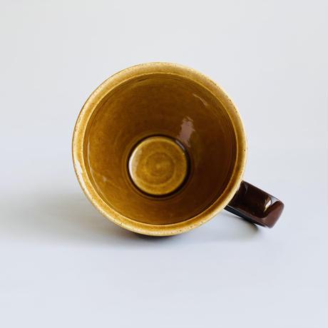 外マーブルブラウン マグカップ 白土
