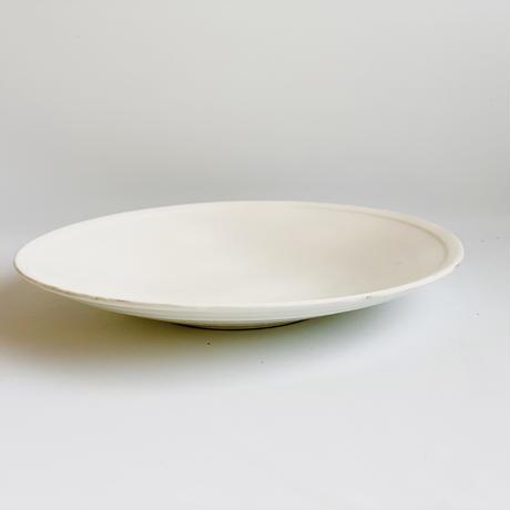 白化粧 8寸皿
