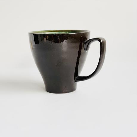 マーブルレッド マグカップ 黒土