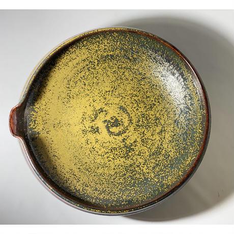 【手造り】 備前片口平鉢 ソバ釉