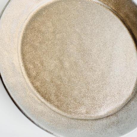 リムプレート 金彩釉