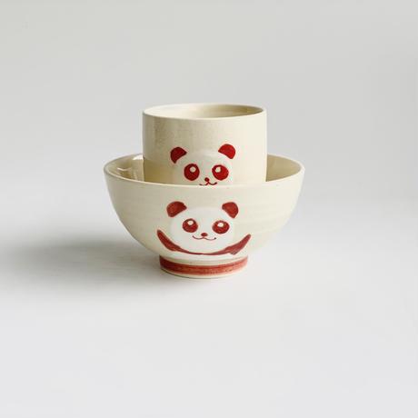 ミニ茶付 赤パンダ