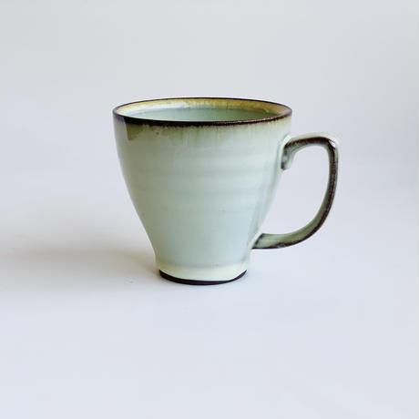 渕錆ワラ灰 マグカップ