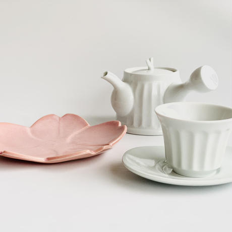 桜型小皿 ピンク