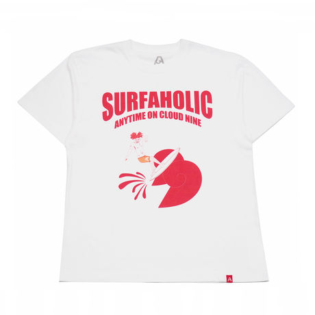 """SURFAHOLIC Tシャツ """"RollerCoaster"""" Color:レッド"""
