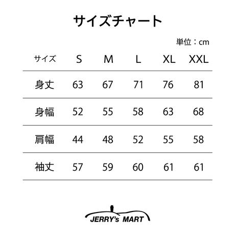 "Vol.28 期間限定JERRYSMITH ""GameShirts"" Color:ホワイト"