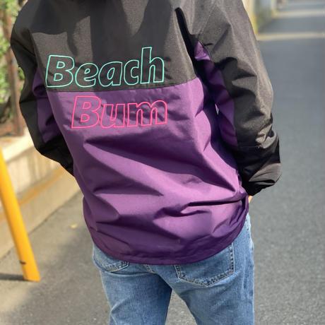 "Vol.16 期間限定 BeachBum マウンテンパーカー ""Simple and Glitzy"" Color:パープル×ブラック"