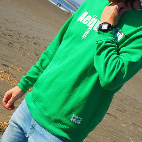 "Vol.6 期間限定 JERRYSMITH スウェット (裏パイル) ""AEQUORIN"" Color:Green"