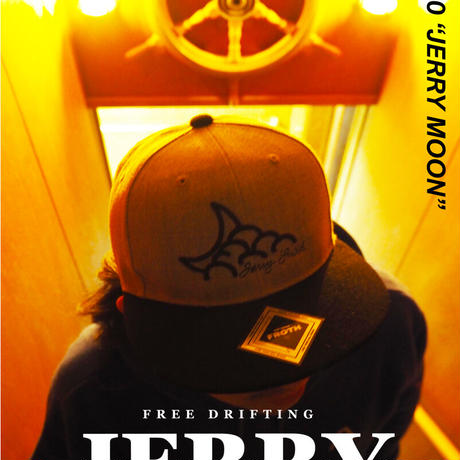 """Vol.10 期間限定 キャップ JERRYSMITH × FROTH """"JERRY MOON"""" Color:GRAY×BLACK"""