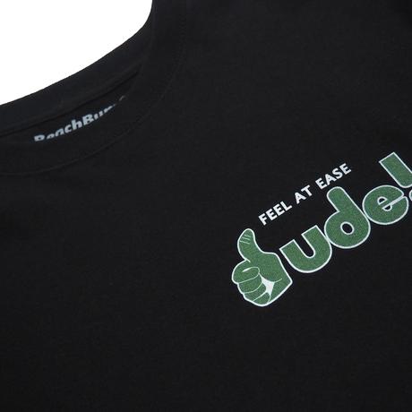 """BeachBum Tシャツ """"D NETWORK"""" Color:ブラック"""