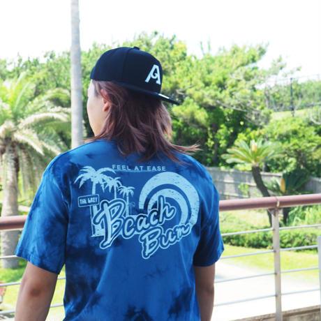 "BeachBum Tシャツ ""PalaDyese""  Color:ブルー"