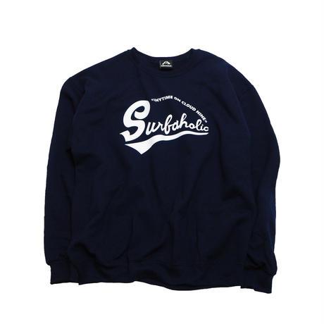 "Vol.7 期間限定 スウェット(裏起毛) SURFAHOLIC ""Classic Logo"""