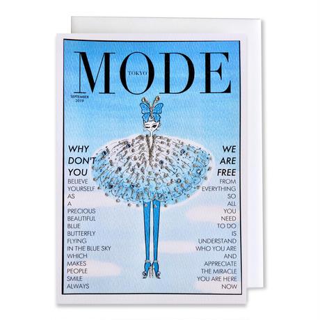 """✦Yurika's Drawing✦ """"MODE magazine [SEPTEMBER 2019]"""" GREETING CARD[L]"""
