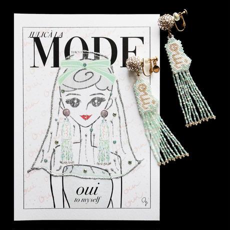 """JULICÀ LA MODE magazine"" GREETING CARD[L]JUNE 2021"