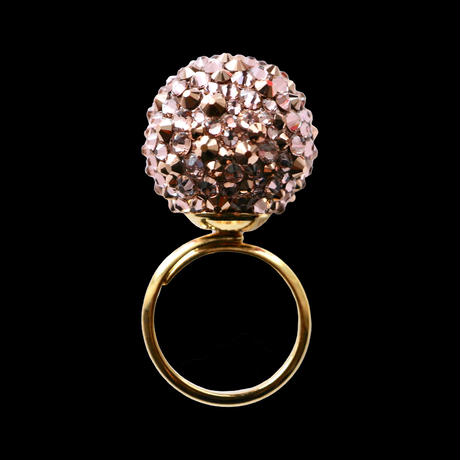 JULICA RING | THE BONBON_NUDE ROSE