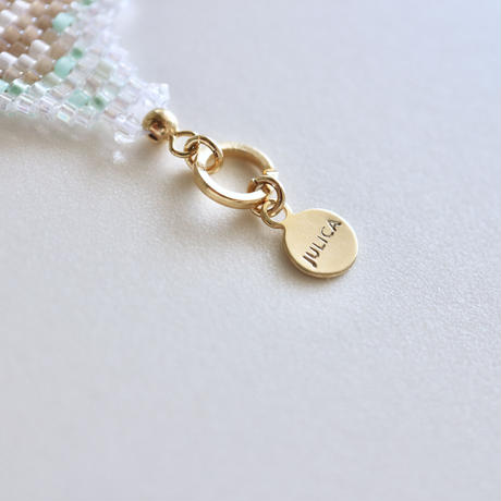 "JULICA   BONBON LETTRE Bracelet ""oui oui oui"""