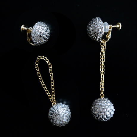 JULICA EARRINGS | BONBON DEMI_CLASSIC