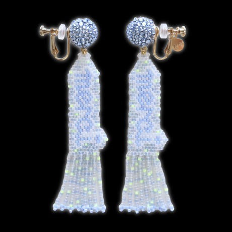 "JULICA   BONBON LETTRE Earrings ""merci"""