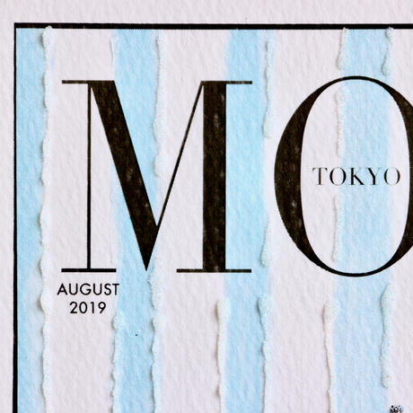 "✦Yurika's Drawing✦ ""MODE magazine [AUGUST 2019]"" GREETING CARD[L]"
