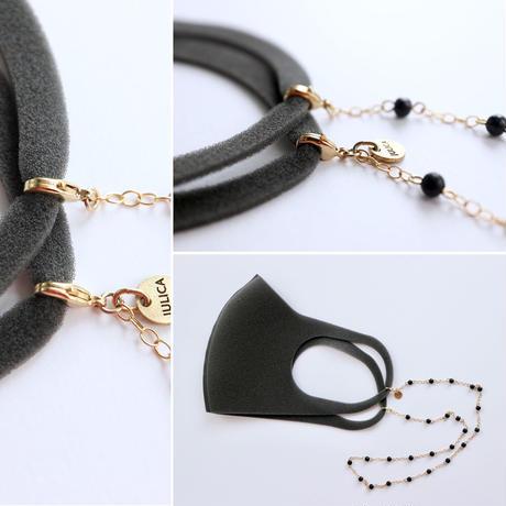 JULICA | Black wood chain mask code[2way]