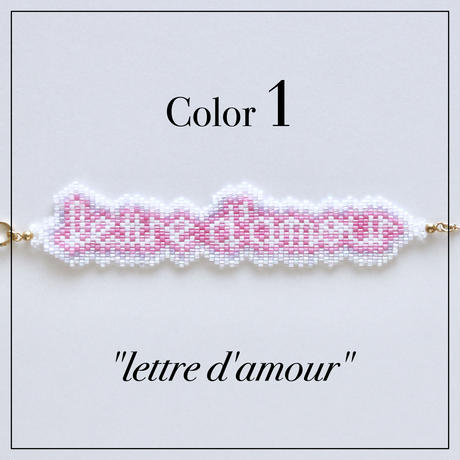 JULICA | [Semi-Custom 10words]BONBON LETTRE Bracelet