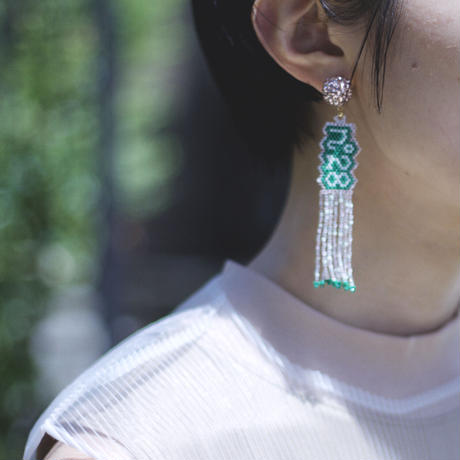 "JULICA   BONBON LETTRE Earrings ""n°28"""