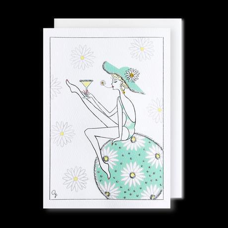 """JULICÀ LA MODE magazine"" GREETING CARD[L]JULY 2021"