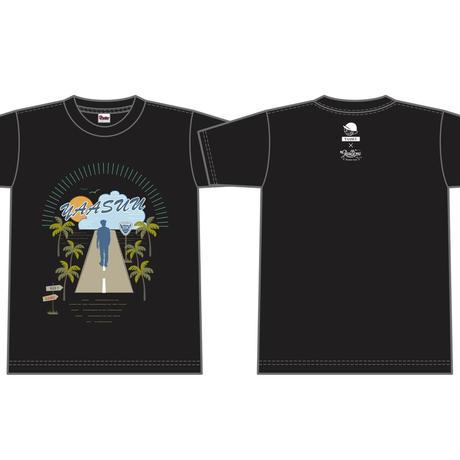 YAASUU コラボTシャツ/ ブラック