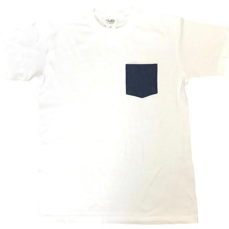 ポケット付きTシャツ/デニム